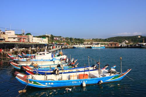 北海岸及观音山国家风景区_富基渔港